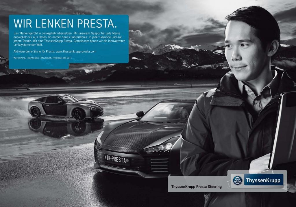 ThyssenKrupp Presta Steering