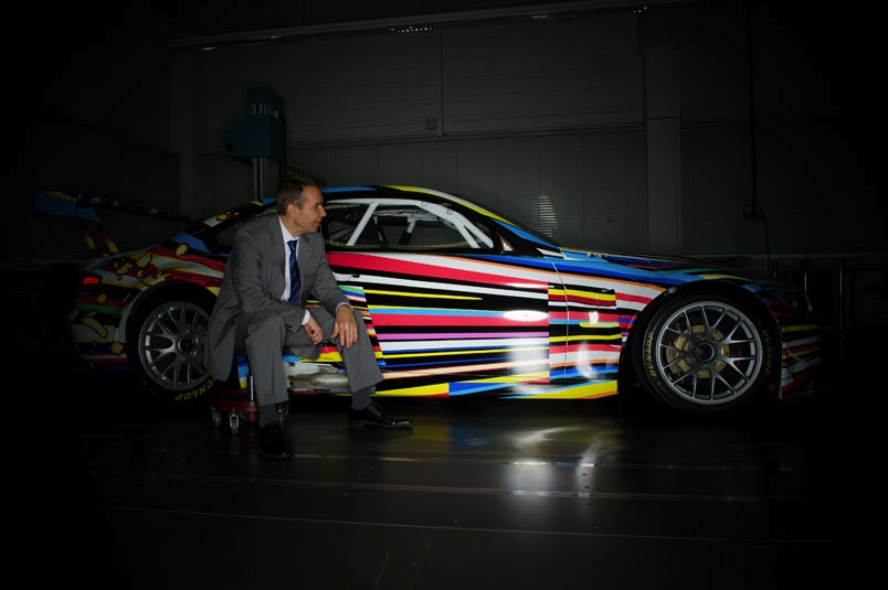 Jeff Koons, Artcar for BMW, GQ