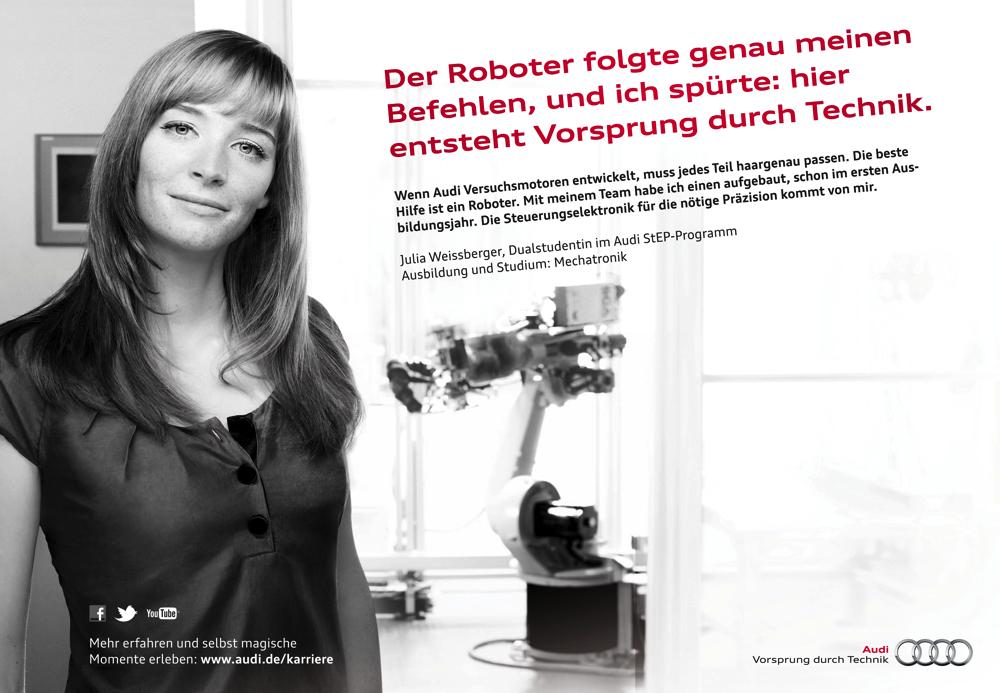 Audi Personalkampagne