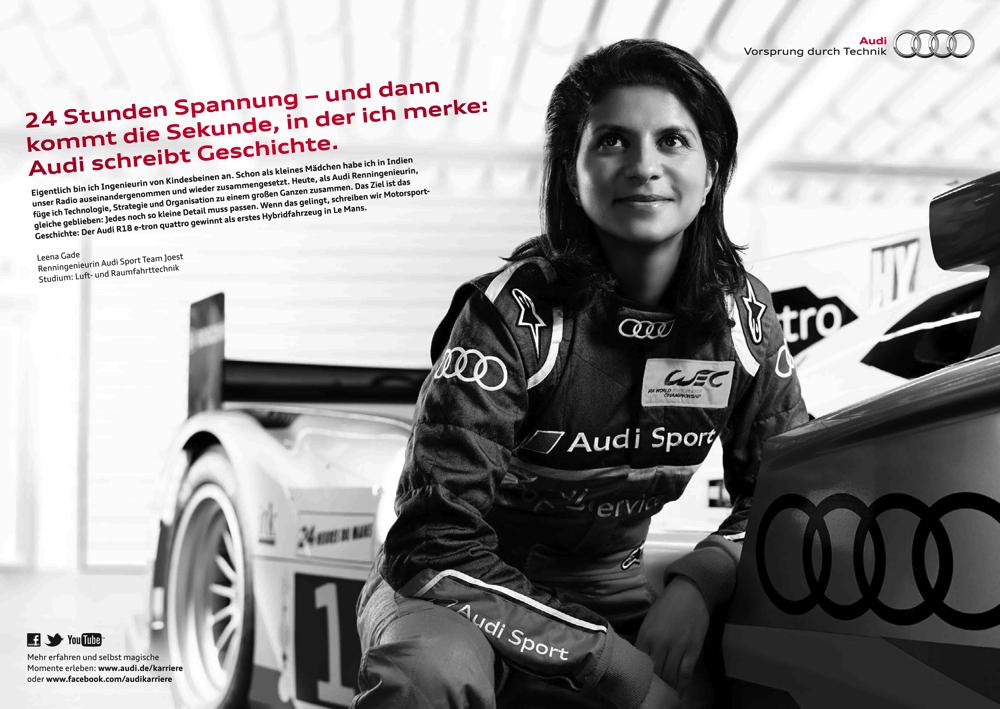 Audi, Leena Gade, Motorsport