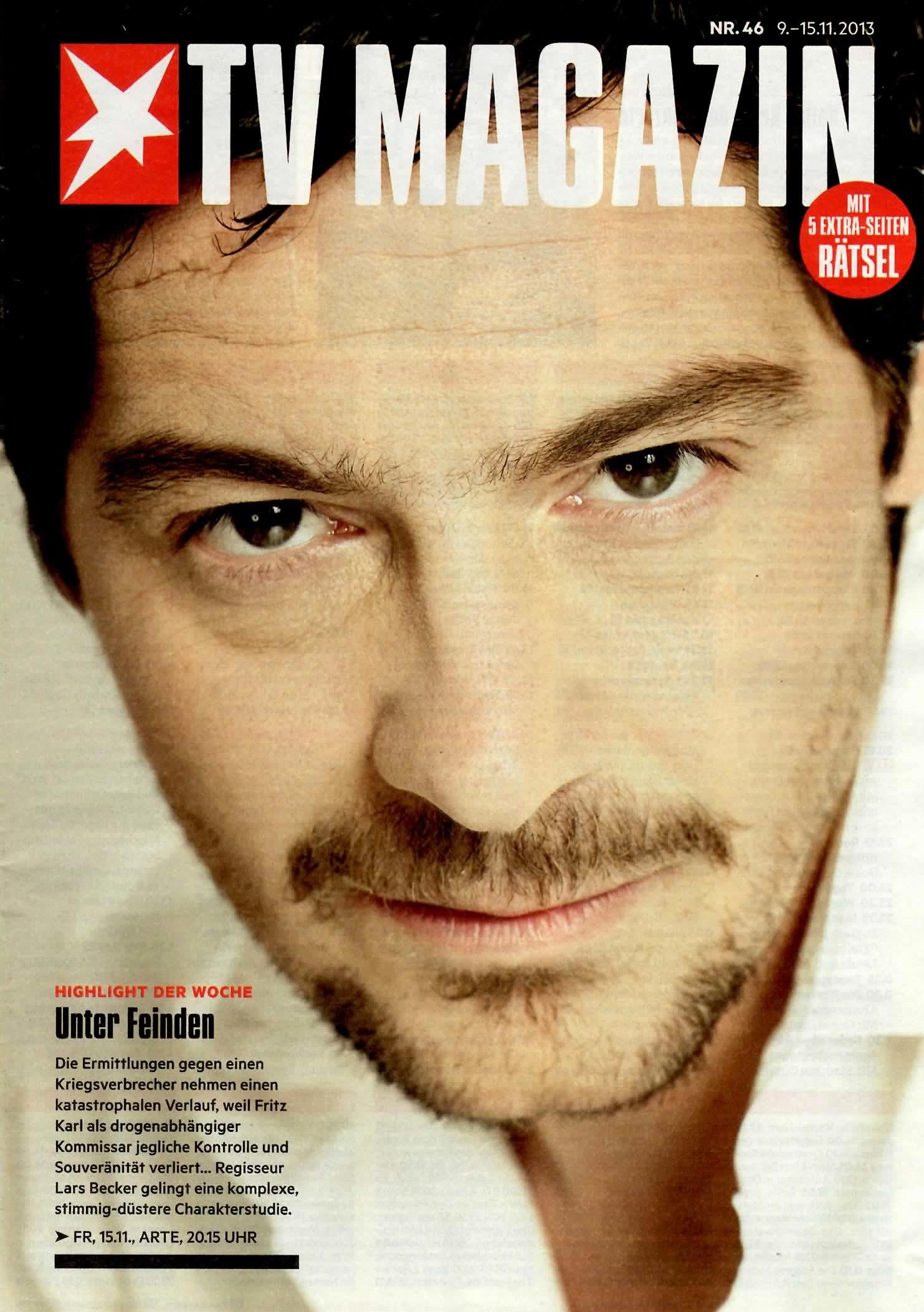Stern TV-Magazin Titel mit Fritz Karl